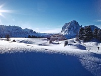 Incantevole inverno al Col Raiser